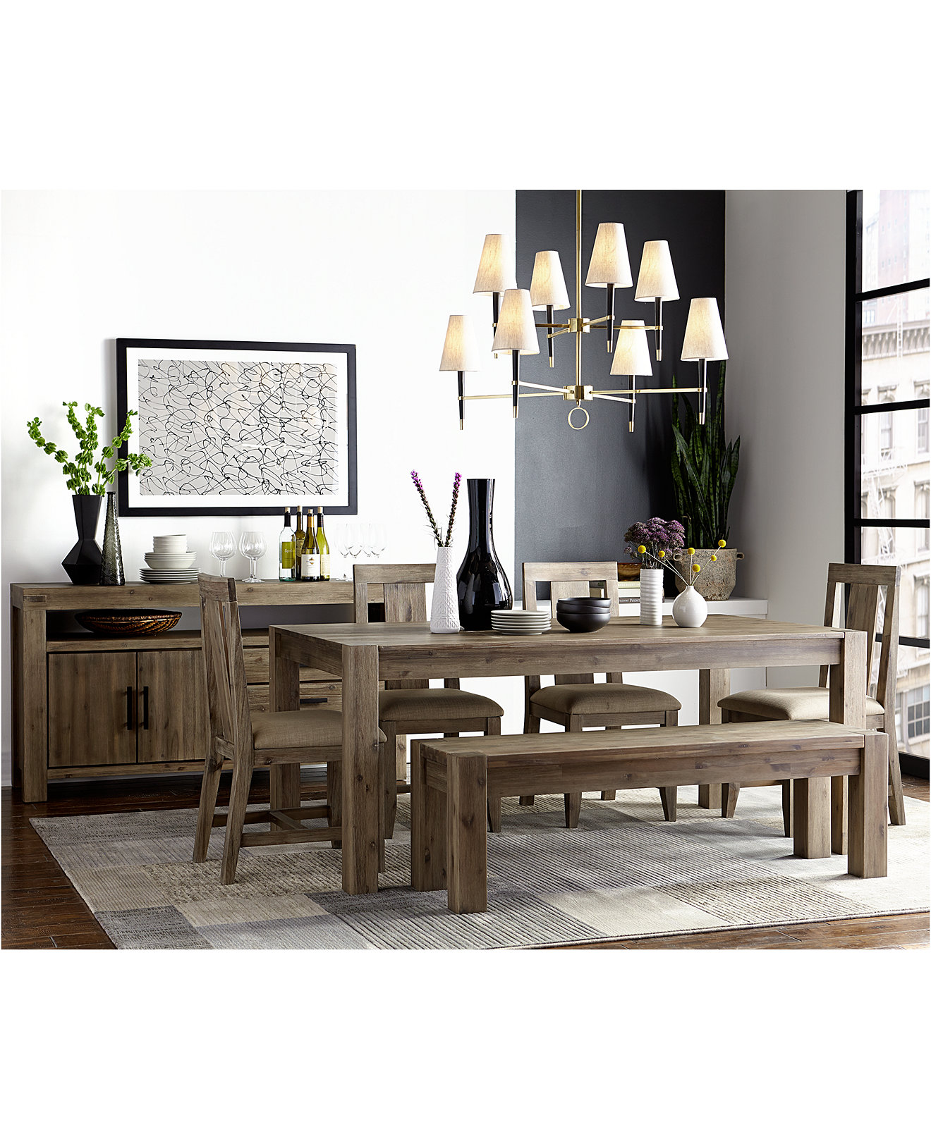 Canyon Dining Furniture Collection, Only at Macy's - Furniture ...