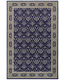 "Oriental Weavers Richmond Lillahan Navy/Grey 7'10"" x 10'10"" Area Rug"
