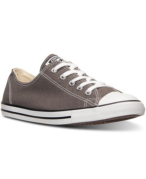 bbdd64c8dc2f Converse Women s Chuck Taylor All Star Dainty Sneakers from Finish Line