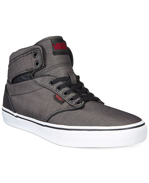 Vans Men s Atwood Hi Wax Canvas   Reviews - All Men s Shoes ... aaa8ff8e6