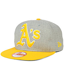 New Era Oakland Athletics Logo Grand 9FIFTY Snapback Cap