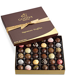 Godiva 36-Pc Signature Truffle Gift Box