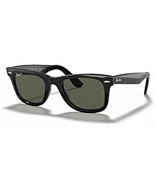 Polarized Sunglasses, RB2140F ORIGINAL WAYFARER