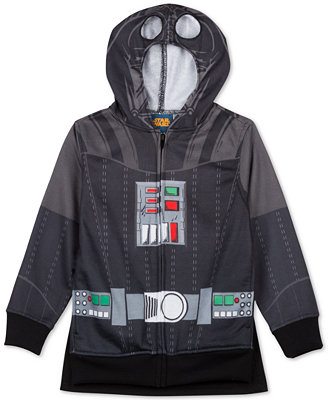 Official Star Wars Hoodies. Warm enough to keep you comfortable on Hoth, our Star Wars hoodies and sweatshirts are better than climbing into a Taun Taun. Chewbacca Costume Zip-Up Hoodie $ S M L XL 2X Star Wars Darth Vader Lightweight Costume Hoodie $ Reg. $ S M L XL 2X Star Wars Darth Vader Simply Ugly Men's Christmas Sweater.
