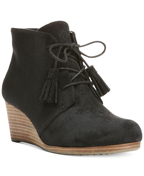 284589195001 Dr. Scholl s Dakota Wedge Booties   Reviews - Sandals   Flip Flops ...