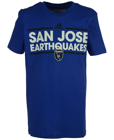 adidas Kids' San Jose Earthquakes Dassler T-Shirt, Big Boys (8-20)