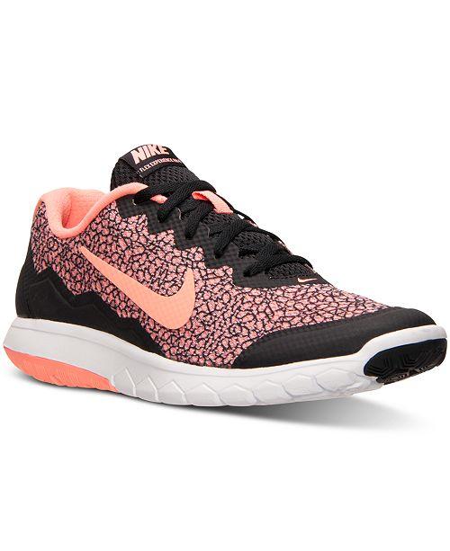 ... Nike Women s Flex Experience Run 4 Premium Running Sneakers from Finish  ... dce351159