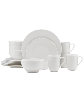 Dinnerware For Me Collection Porcelain 16 Piece Place Setting, Service For 4 by Villeroy & Boch