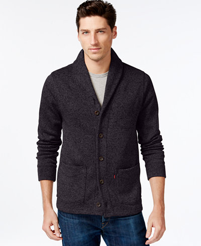 Levi's® Rand Shawl-Collar Cardigan - Sweaters - Men - Macy's