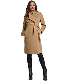 Seraphine Maternity Belted Walker Coat