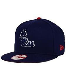 New Era Mississippi Rebels Core 9FIFTY Snapback Cap