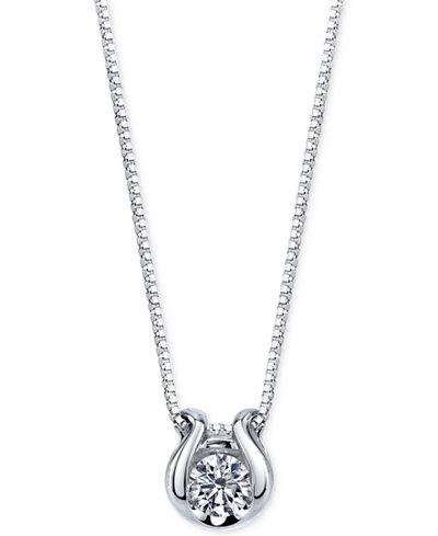Sirena diamond accent pendant necklace in 14k white gold necklaces sirena diamond accent pendant necklace in 14k white gold aloadofball Choice Image
