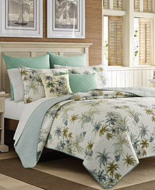 Tommy Bahama Home Serenity Palms Twin Quilt