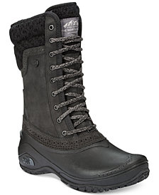 The North Face Women's Shellista Waterproof Mid Cold Weather Boots