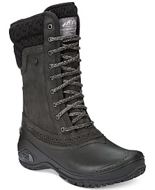 The North Face Women's Shellista Waterproof Winter Boots