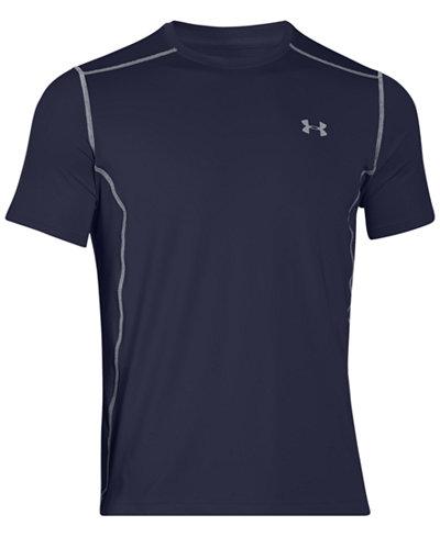Under Armour Men's HeatGear® Raid Fitted T-Shirt - T-Shirts - Men ...