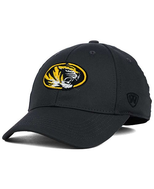 Top of the World Missouri Tigers Alliance Gray Stretch-Fit Cap