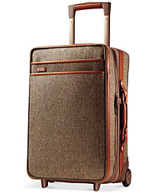 "Hartmann Tweed Collection 21"" Carry On Expandable Rolling Suitcase"