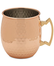 Towle Modernist Copper-Plated Moscow Mule Hammered Mug