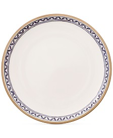 Villeroy & Boch Artesano Provencal Lavender Collection Porcelain White Well Dinner Plate