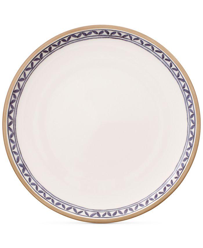 Villeroy & Boch - Artesano Provencal Lavender Collection Porcelain White Well Dinner Plate