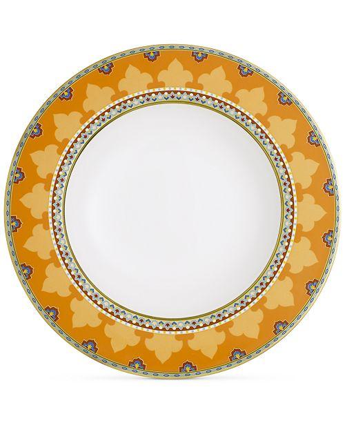 Villeroy & Boch Samarkand Mandarin Collection Porcelain Rim Soup Bowl