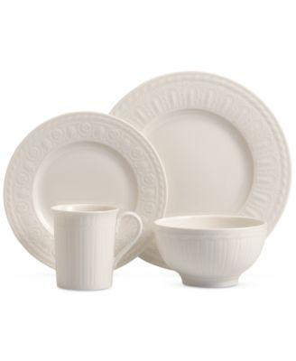 Porcelain 4-Pc. Cellini Place Setting