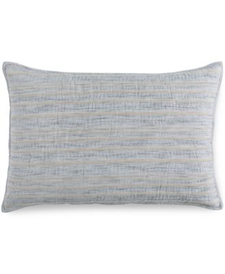 Linen Stripe Quilted Standard Sham, Created for Macy's