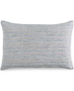 Hotel Collection Linen Stripe Quilted King Sham Created for Macys Bedding