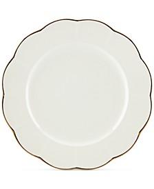 Dinnerware Ironstone Shades of White Dinner Plate