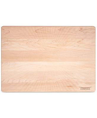 jk adams concave cutting board  cutlery  knives  kitchen  macy's,