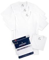 15beafc7d Jockey Men's Tagless 3-Pack V-Neck T-Shirts + 1 Bonus Shirt