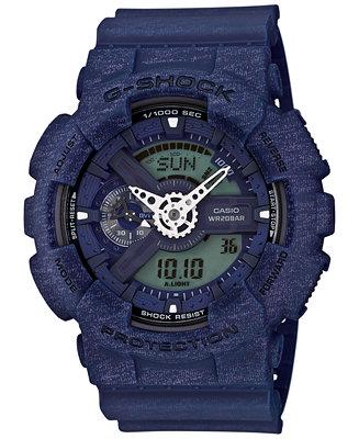 G-Shock Men's Chronograph Analog-Digital Blue Bracelet Watch