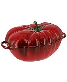 Ceramic 16-Oz. Petite Tomato Cocotte