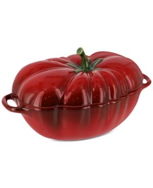 Staub Ceramic 16-Oz. Petite Tomato Cocotte