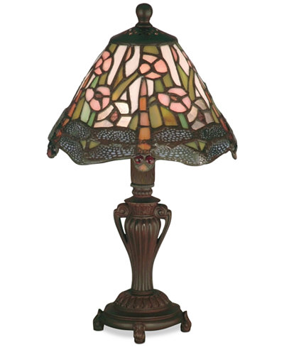 Dale Tiffany Dragonfly Accent Table Lamp