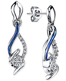 Sirena® Jeans Diamond Drop Earrings in 14k White Gold (1/4 ct. t.w.)