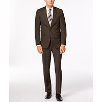 Kenneth Cole Slim-Fit Sharkskin Suit
