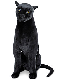 Melissa and Doug Kids' Plush Panther Stuffed Toy