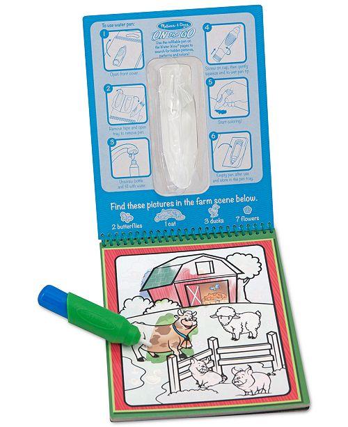 Melissa and Doug Kids' Water Wow Vehicles, Animals & Alphabet Gift Set