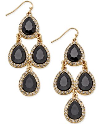 Image of INC International Concepts Teardrop Chandelier Earrings, Only at Macy's