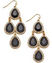 I.N.C. Teardrop Chandelier Earrings, Created for Macy's