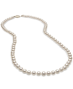 """18"""" Cultured Freshwater Pearl (5mm) Strand in 14k Gold"""