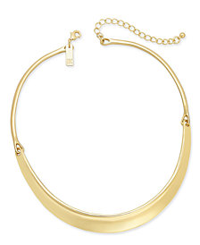 I.N.C. Hinged Stirrup Collar Necklace, Created for Macy's