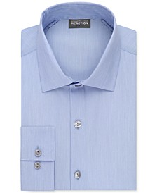 Slim-Fit Techni-Cole Flex Collar Solid Dress Shirt