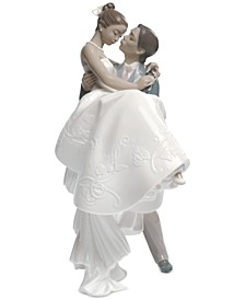 Porcelain The Happiest Day Figurine
