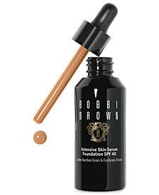 Bobbi Brown Intensive Skin Serum Foundation SPF 40, 1 fl.oz