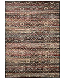CLOSEOUT! HARAZ HAR466 Red/Black Area Rugs