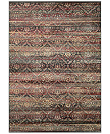"CLOSEOUT! Couristan HARAZ HAR466 Red/Black 2' x 3'7"" Area Rug"