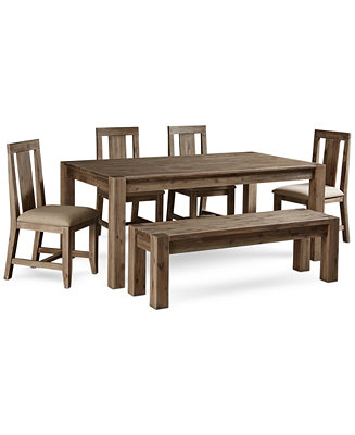 Furniture Canyon 6 Piece Dining Set Created For Macy S